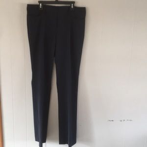 The Limited straight Drew Fit pants navy 8R